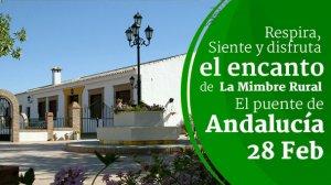 Imagen de: El puente de Andalucía, respira, siente y disfruta en la Mimbre rural. - La Mimbre Rural | Casas Rurales en Priego de Córdoba con encanto